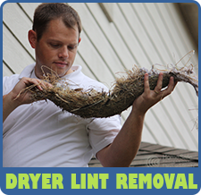 Dryer Lint Removal